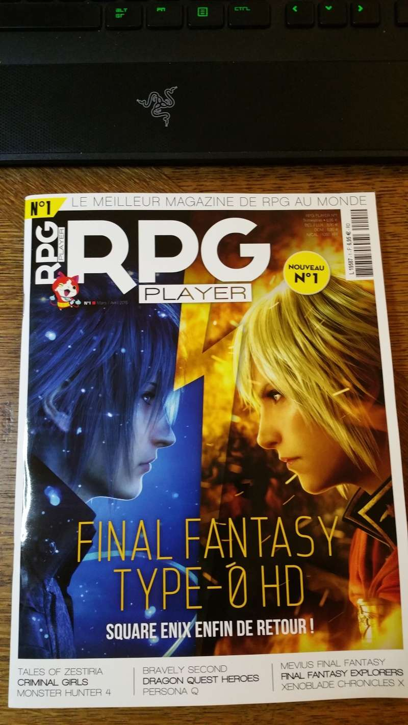 [MAGAZINE] RPG Player n°1 20150510