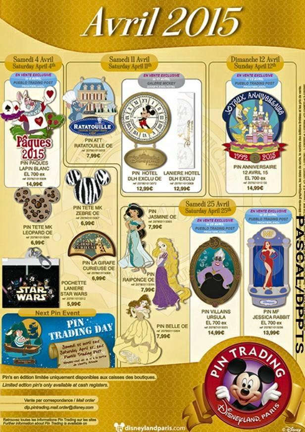 Le Pin Trading à Disneyland Paris - Page 6 11120010