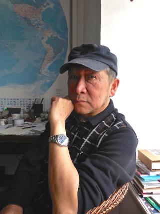 Li Kunwu, auteur chinois de BD, dans son atelier à Kunming, une exclusivité du Forum Chine et Francophonie Likun_11