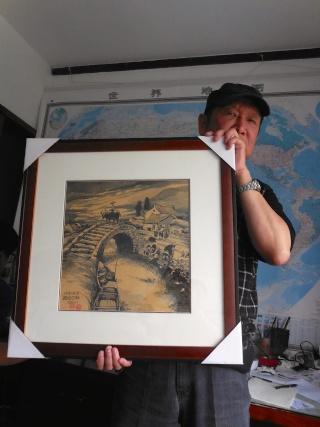 Li Kunwu, auteur chinois de BD, dans son atelier à Kunming, une exclusivité du Forum Chine et Francophonie Likun_13