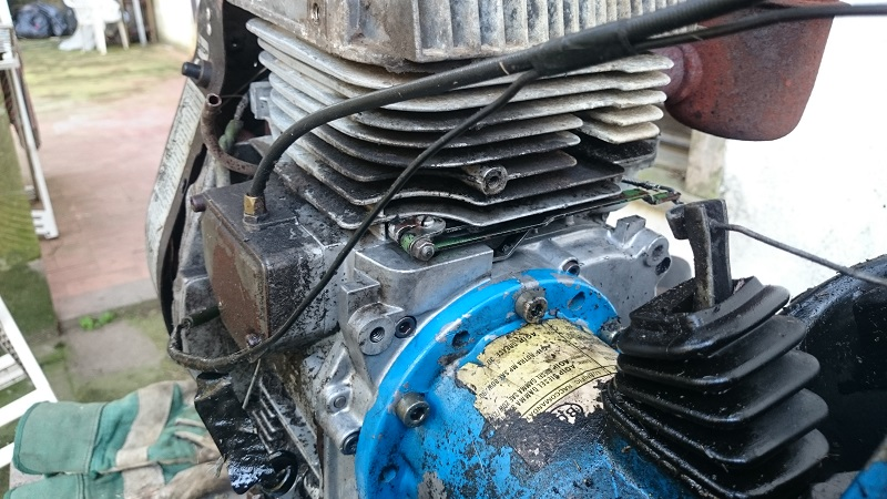 Falciatrice BCS motore Lombardini perde olio  Dsc_0212