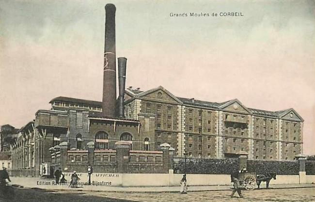 """Essonnes - Plomb de scelle """" Grands moulins de Corbeil"""". Grands11"""