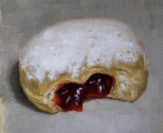 Painting #109:  Dribbling! Donut10