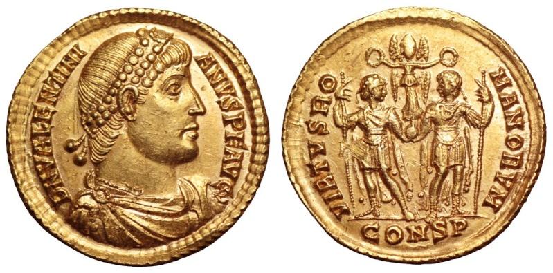 Roma numismatics Valent13