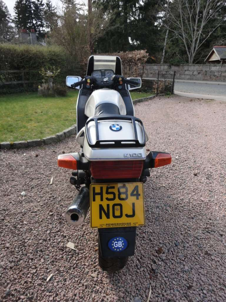 My BMW K100 16 valve for sale - UK 00111