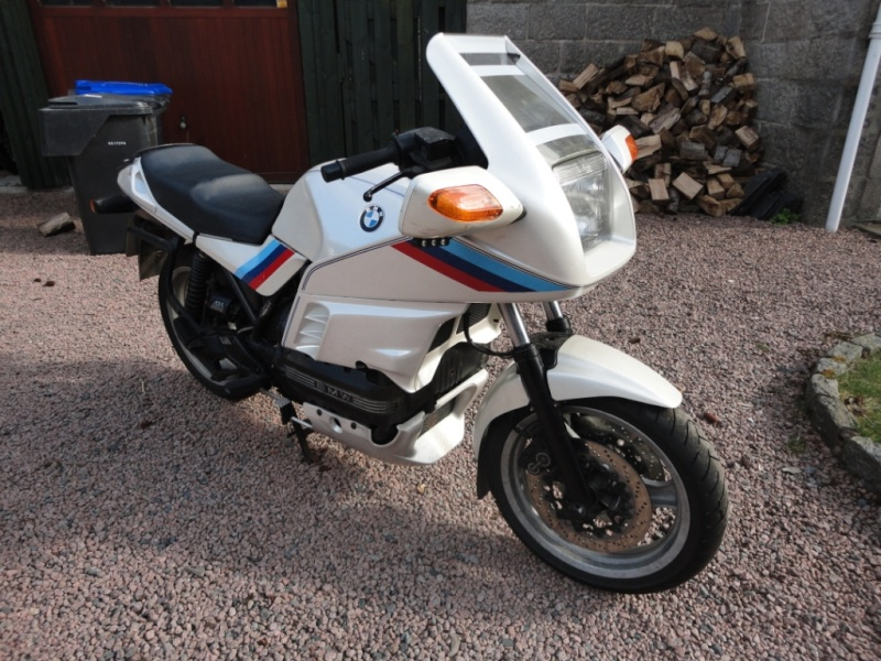 My BMW K100 16 valve for sale - UK 00510