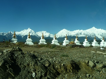 La Chine sac au dos (33) Aux confins du Tibet (西藏): Yunnan/Sichuan de Deqin (得钦) à Litang(里塘) via Benzilan et Batang Deqin_10