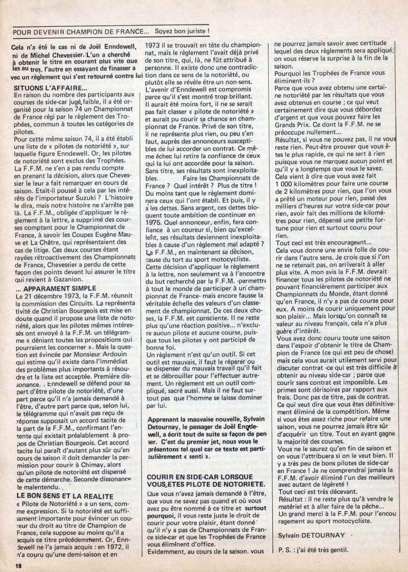 Coupe FIM d'Endurance 1975 - L'affaire du classement final : un scandale ? ... Oui ! Z3_mon11