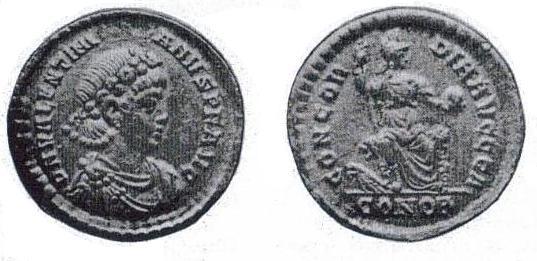 solidus Valentinien II Forger10