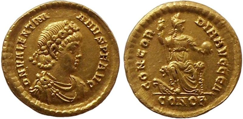 solidus Valentinien II Valent10