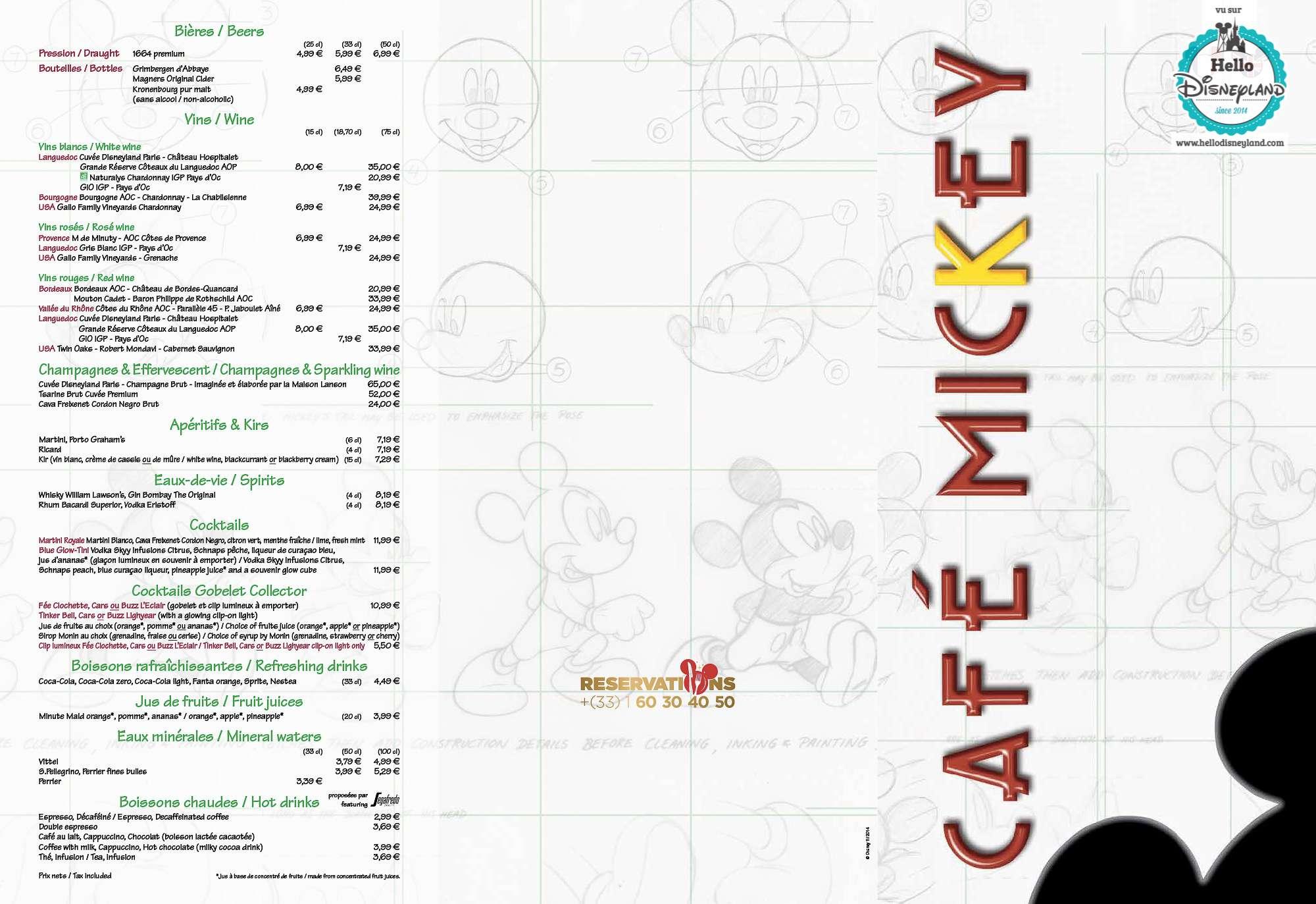 Disney Village :: Café Mickey - Pagina 30 Menu-r35