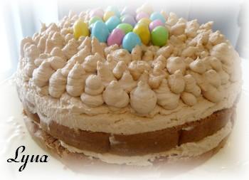 Gâteau éponge au chocolat, mousse caramel et nutella Gateau11