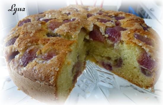 Gâteau Italien à l'huile d'olive et raisins frais Gateau15