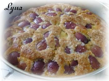 Gâteau Italien à l'huile d'olive et raisins frais Gyteau13