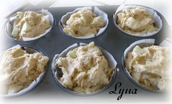Muffins aux pommes avec caramel à la fleur de sel Muffin10