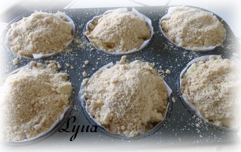 Muffins aux pommes avec caramel à la fleur de sel Muffin11