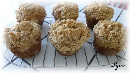 Muffins aux pommes avec caramel à la fleur de sel Muffin12