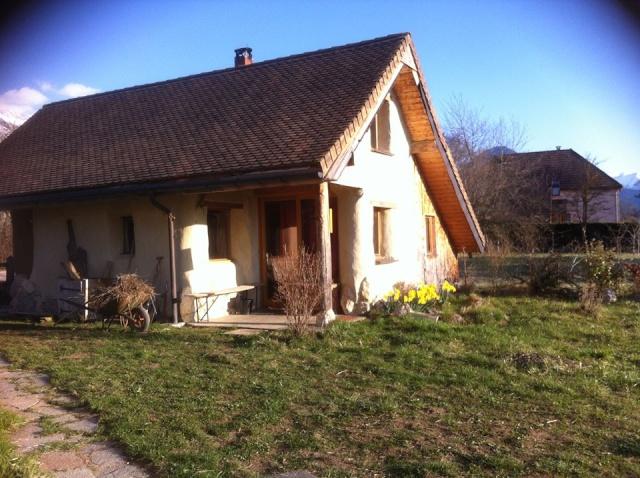 Terre Paille Chaux, une maison de vacances au naturel, 38710 Mens (Isère) 018