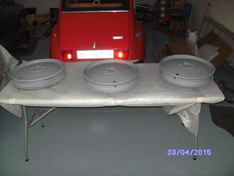 Restauration citroen trefle moteur - Page 3 Sany1447