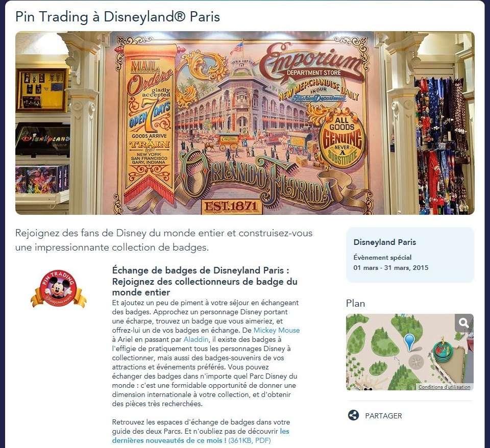 Collection des bourdes de Disneyland Paris - Page 30 P12