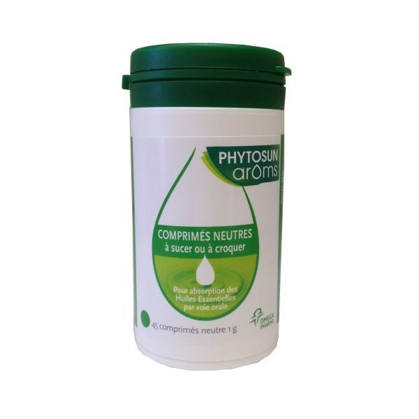 Comprimés neutres pour huiles essentielles Phytos10