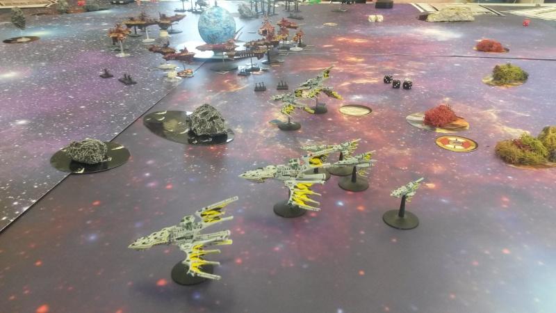 [SM/Eldars vs Chaos] Assaut Planétaire - 4000pts - Club de Meudon 20150411