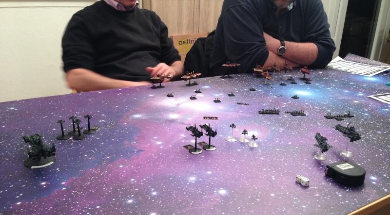 [Navy/Chaos vs Eldars/Ty] Initiation BFG Battle11