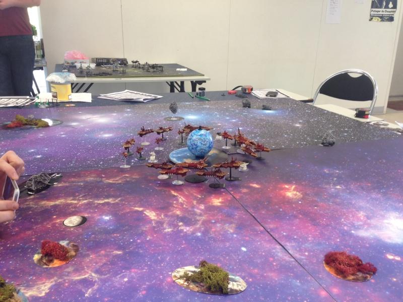 [SM/Eldars vs Chaos] Assaut Planétaire - 4000pts - Club de Meudon Img_3710