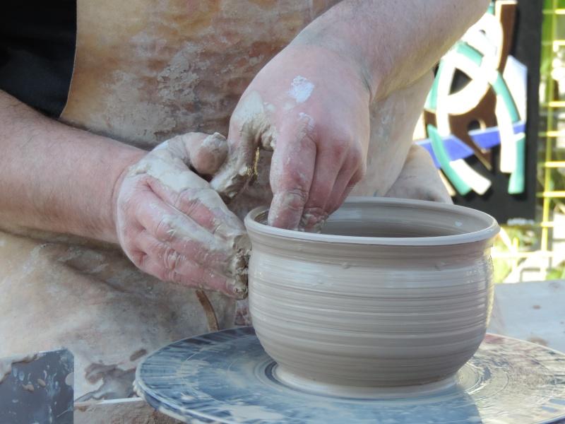 IRL décentralisée autour du thème de la poterie dimanche 24 mai Lamballe Foire_10