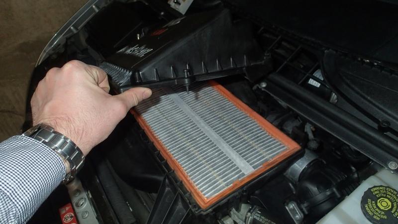 Remplacement filtre à air par filtre réutilisable (K&N) P4083013
