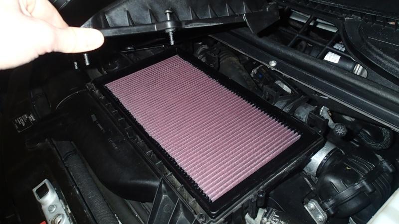 Remplacement filtre à air par filtre réutilisable (K&N) P4083015