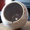 Stoneware Lampbase Lampba13