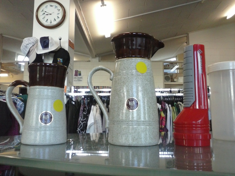 I don't think we have this tall orzel jug and tankard in the gallery Cam01511