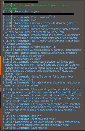 [Refusé] Candidature de Generals Genera10