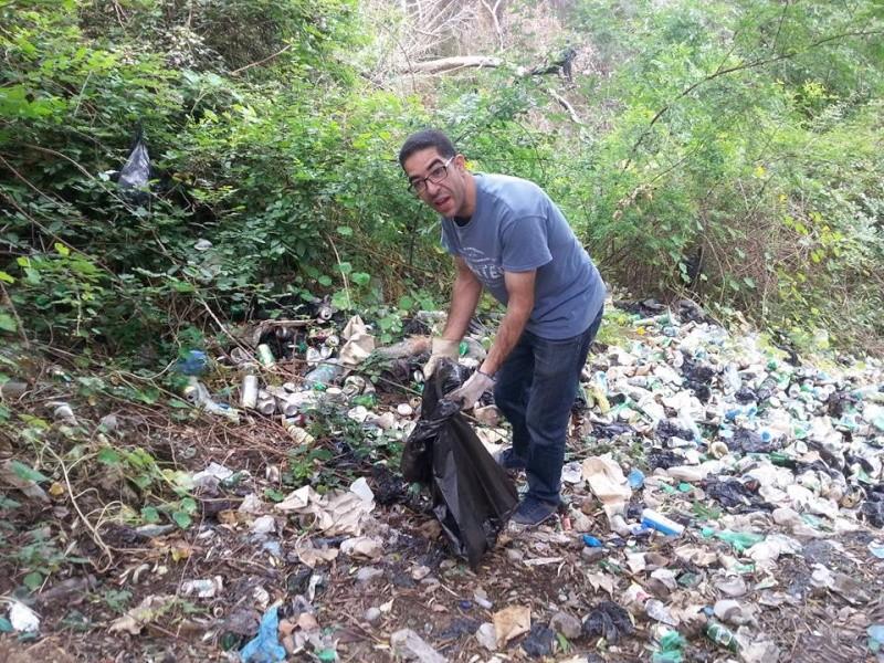 4ième vendredi de  Volontariat: nettoyage route du Cap Aokas. 22 mai 2015 - Page 2 1315