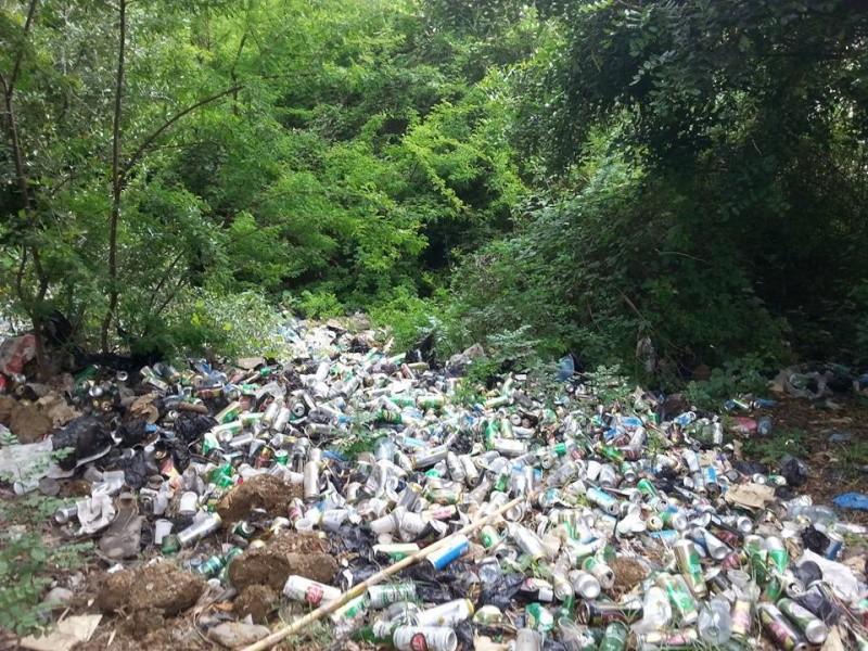 4ième vendredi de  Volontariat: nettoyage route du Cap Aokas. 22 mai 2015 - Page 2 1414