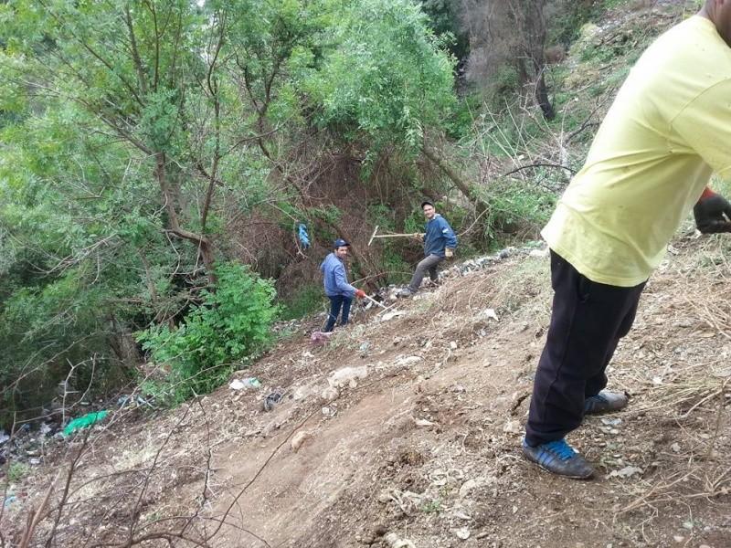 4ième vendredi de  Volontariat: nettoyage route du Cap Aokas. 22 mai 2015 - Page 2 519