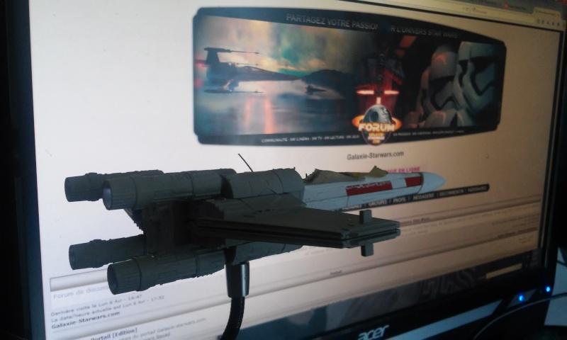 X-wing 1/72 BANDAI 20150410