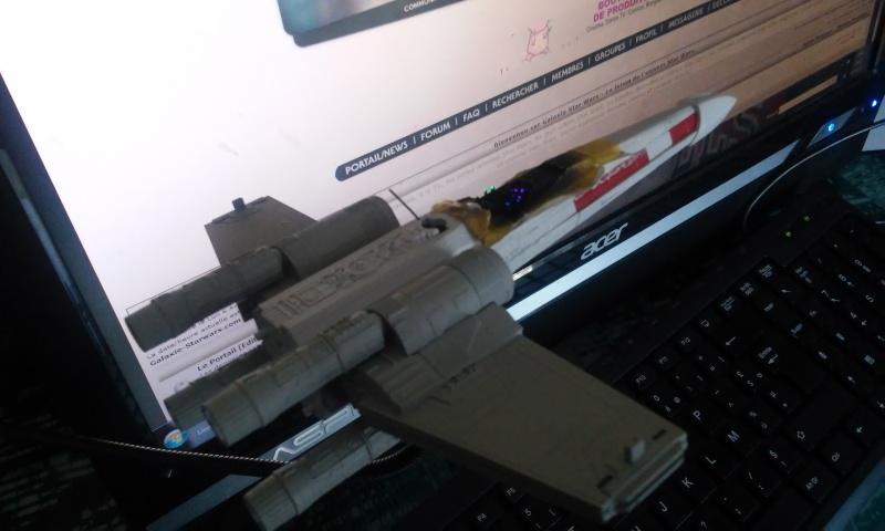 X-wing 1/72 BANDAI 20150411