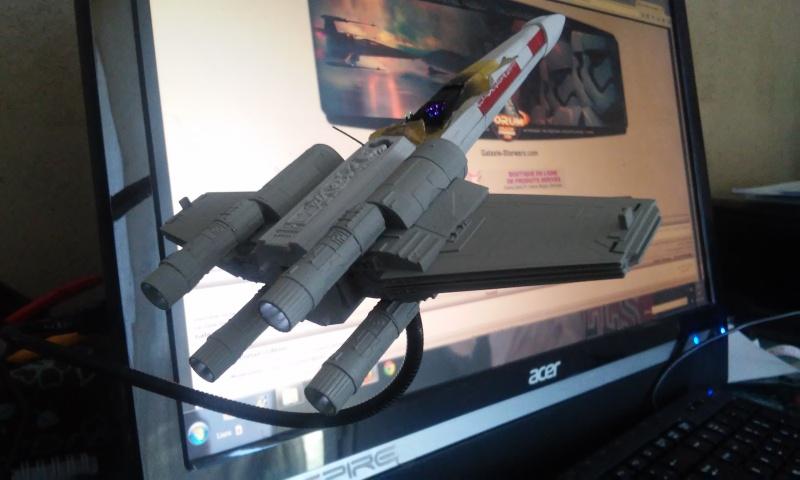 X-wing 1/72 BANDAI 20150413