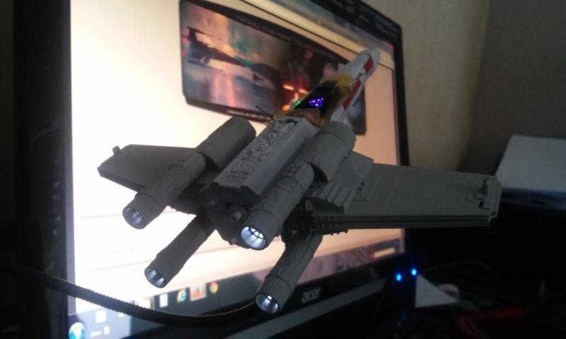 X-wing 1/72 BANDAI 20150415