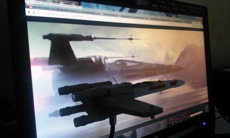 X-wing 1/72 BANDAI 20150416