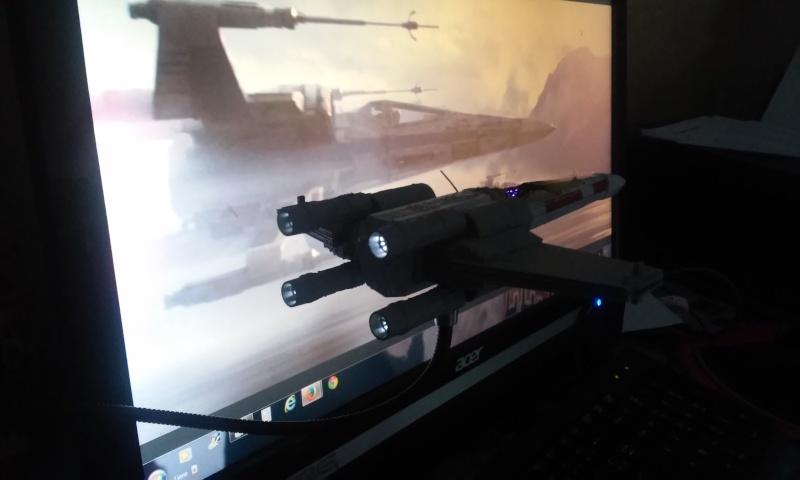 X-wing 1/72 BANDAI 20150417