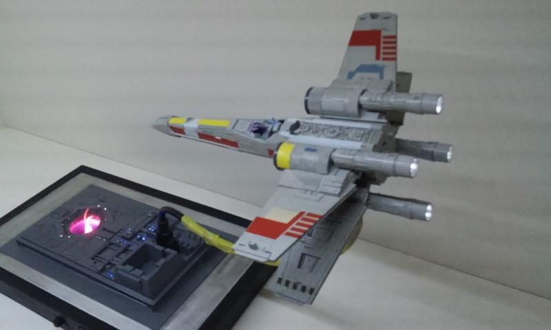 X-wing 1/72 BANDAI 20150426