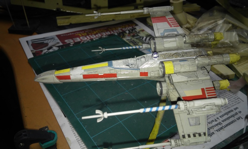 X-wing 1/72 BANDAI  20150430