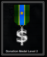 Donation Level Medal 2