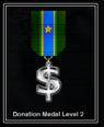 Donation Level Medal 2
