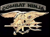 NiN Seal Team Member Pin and Patch