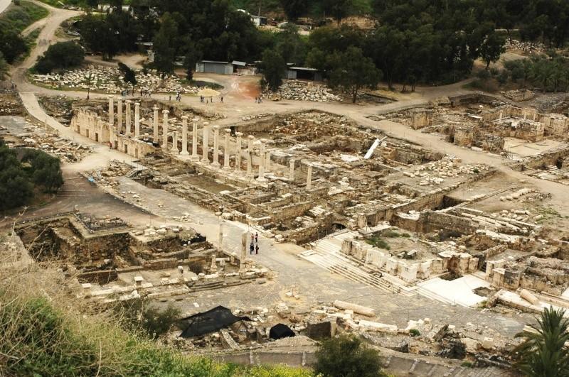 Beït-Shéan (Scythopolis) en Israel. 10140610