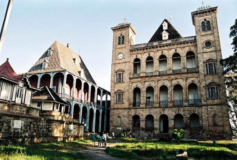 Le Palais de la Reine (Rova Manjakamiadana), Tananarive (Antananarivo) à Madagascar. 17357310